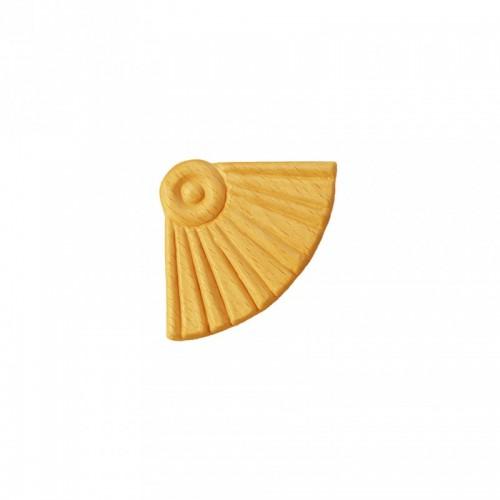 Angle éventaille 45x45 style baroque en bois ES151